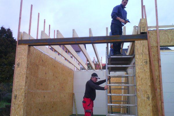 Výstavba RD Karlovy Vary II-dřevostavba domu svépomocí | IMG_20151110_152043 - IMG_20151110_152043
