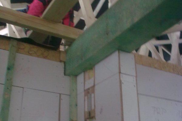 Výstavba RD Karlovy Vary-výstavba domu na klíč-moduly 30 cm  !! Detailní fotogalerie stavby  !! | atypický masivní překlad - atypický masivní překlad