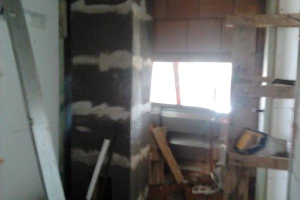 Výstavba RD Karlovy Vary-výstavba domu na klíč-moduly 30 cm  !! Detailní fotogalerie stavby  !! | Montáž komínového tělesa - Montáž komínového tělesa