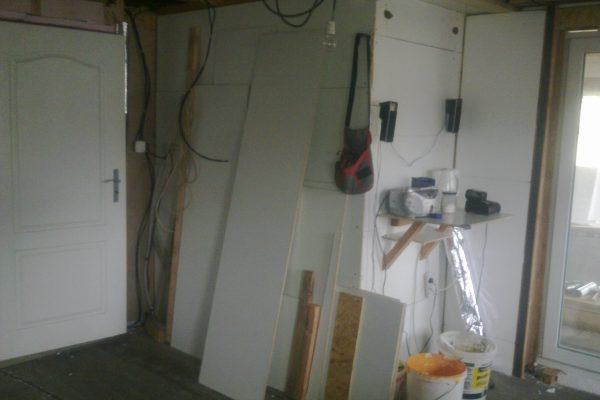 Výstavba RD Kfely-dřevostavba domu svépomocí | 14 - 14
