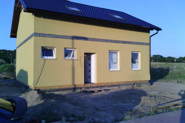 Výstavba RD Kly-výstavba domu na klíč | Dům je připraven na předání investorovy - Dům je připraven na předání investorovy
