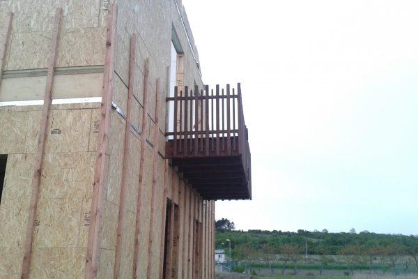 Výstavba RD Kly-výstavba domu na klíč | Montáž balkonu - Montáž balkonu