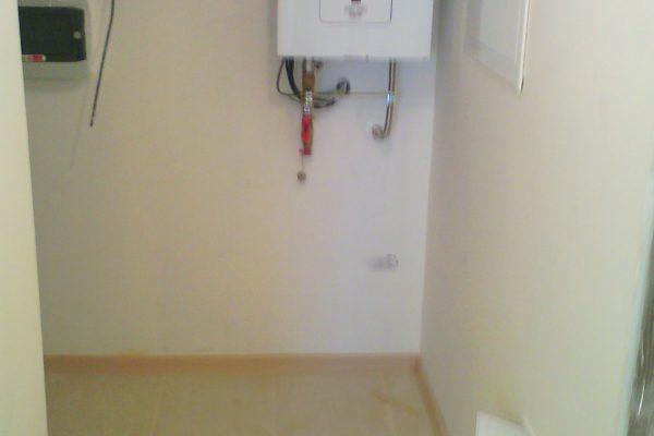 Výstavba RD Kly-výstavba domu na klíč | Montáž elektrokotle - Montáž elektrokotle
