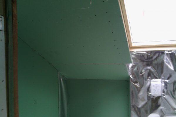 Výstavba RD Kly-výstavba domu na klíč | Montáž sádrokartonu koupelna - Montáž sádrokartonu koupelna