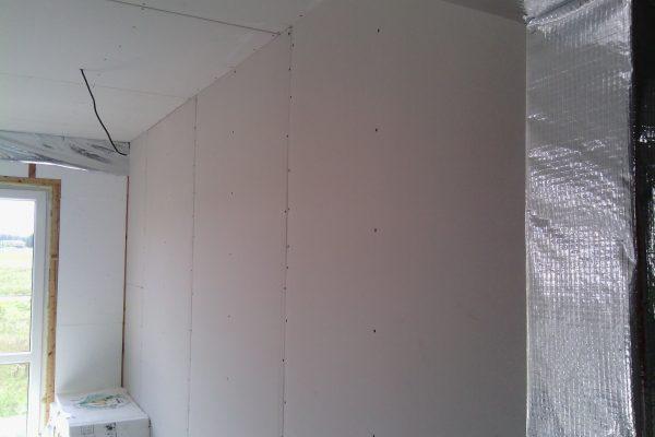 Výstavba RD Kly-výstavba domu na klíč | Montáž sádrokartonu - Montáž sádrokartonu