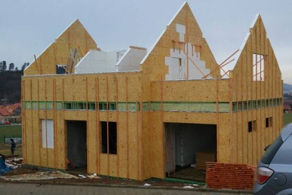 Výstavba RD Trubín-dřevostavba domu svépomocí- Čistá stavba – !! Stavba patra bez Koordinátora !! | 10 - 10