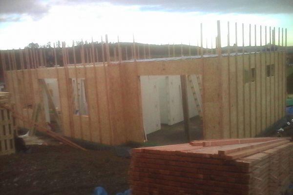 Výstavba RD Trubín-dřevostavba domu svépomocí- Čistá stavba – !! Stavba patra bez Koordinátora !! | 11 - 11