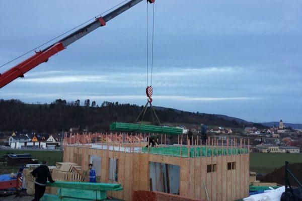 Výstavba RD Trubín-dřevostavba domu svépomocí- Čistá stavba – !! Stavba patra bez Koordinátora !! | 18 - 18