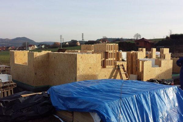 Výstavba RD Trubín-dřevostavba domu svépomocí- Čistá stavba – !! Stavba patra bez Koordinátora !! | 22 - 22