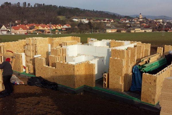Výstavba RD Trubín-dřevostavba domu svépomocí- Čistá stavba – !! Stavba patra bez Koordinátora !! | 23 - 23