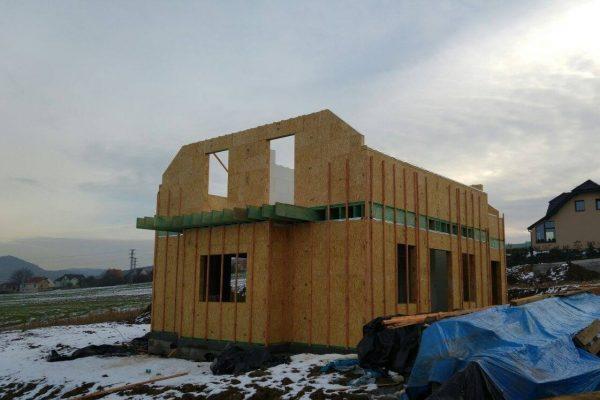 Výstavba RD Trubín-dřevostavba domu svépomocí- Čistá stavba – !! Stavba patra bez Koordinátora !! | 3 - 3