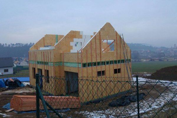 Výstavba RD Trubín-dřevostavba domu svépomocí- Čistá stavba – !! Stavba patra bez Koordinátora !! | 4 - 4