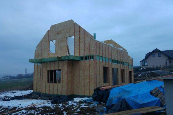 Výstavba RD Trubín-dřevostavba domu svépomocí- Čistá stavba – !! Stavba patra bez Koordinátora !! | 5 - 5