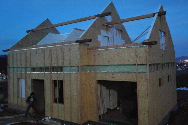 Výstavba RD Trubín-dřevostavba domu svépomocí- Čistá stavba – !! Stavba patra bez Koordinátora !! | 6 - 6