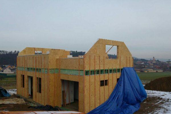 Výstavba RD Trubín-dřevostavba domu svépomocí- Čistá stavba – !! Stavba patra bez Koordinátora !! | 9 - 9