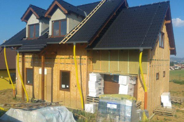 Výstavba RD Trubín-dřevostavba domu svépomocí- Čistá stavba – !! Stavba patra bez Koordinátora !! | IMG-20161129-WA0023 - IMG-20161129-WA0023