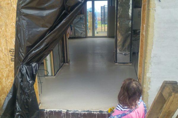 Výstavba RD Trubín-dřevostavba domu svépomocí- Čistá stavba – !! Stavba patra bez Koordinátora !! | IMG-20170430-WA0003 - IMG-20170430-WA0003