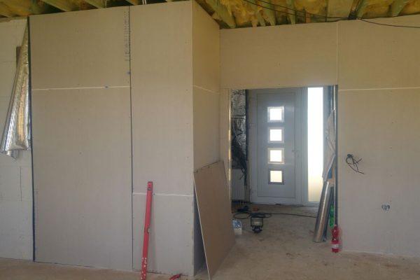 Výstavba RD Trubín-dřevostavba domu svépomocí- Čistá stavba – !! Stavba patra bez Koordinátora !! | IMG-20170813-WA0019 - IMG-20170813-WA0019