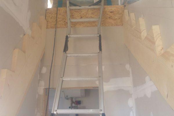 Výstavba RD Trubín-dřevostavba domu svépomocí- Čistá stavba – !! Stavba patra bez Koordinátora !! | IMG-20170829-WA0006 - IMG-20170829-WA0006