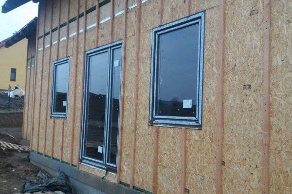 Výstavba RD Trubín-dřevostavba domu svépomocí- Čistá stavba – !! Stavba patra bez Koordinátora !! | Montáž oken a dveří....Štastné bydlení přeje Tým Modul-LEG® - Montáž oken a dveří….Štastné bydlení přeje Tým Modul-LEG®