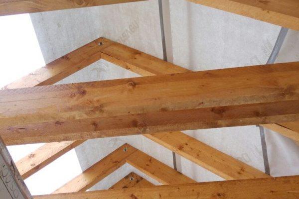Výstavba RD Trubín-dřevostavba domu svépomocí- Čistá stavba – !! Stavba patra bez Koordinátora !! | Stavebnice krovu je přesná!! - Stavebnice krovu je přesná!!