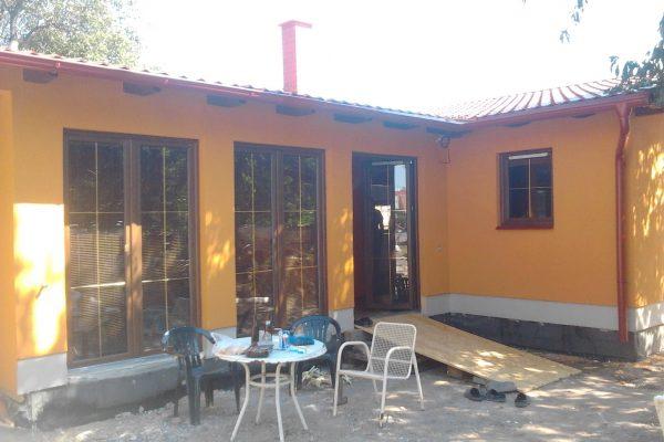 Postavený dům - Výstavba RD Velim-výstavba domu na klíč