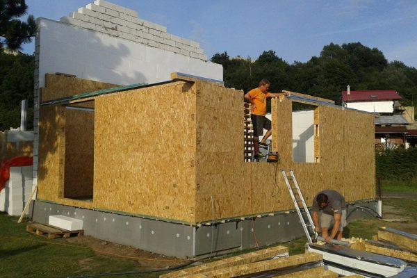 Výstavba RD Žatec-dřevostavba domu svépomocí | 13 - 13