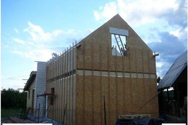 Výstavba RD Žatec-dřevostavba domu svépomocí | 28 - 28