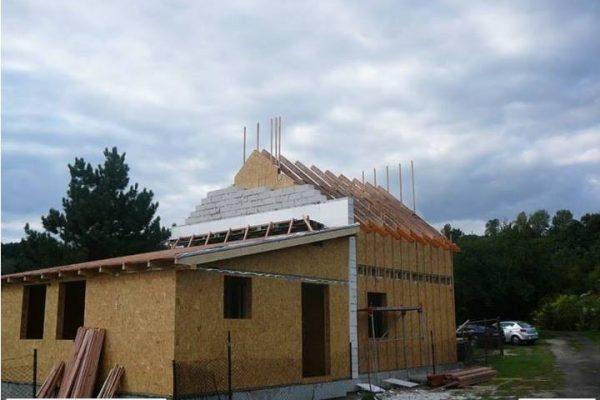 Výstavba RD Žatec-dřevostavba domu svépomocí | 30 - 30