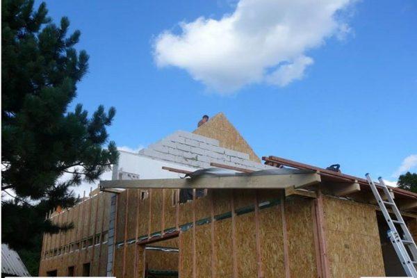 Výstavba RD Žatec-dřevostavba domu svépomocí | 32 - 32
