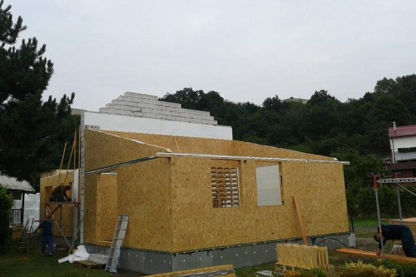 Výstavba RD Žatec-dřevostavba domu svépomocí | 7 - 7