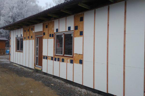 Výstavba RD Velká Hleďsebe-dřevostavba domu svépomocí |  - IMG_20161207_090208