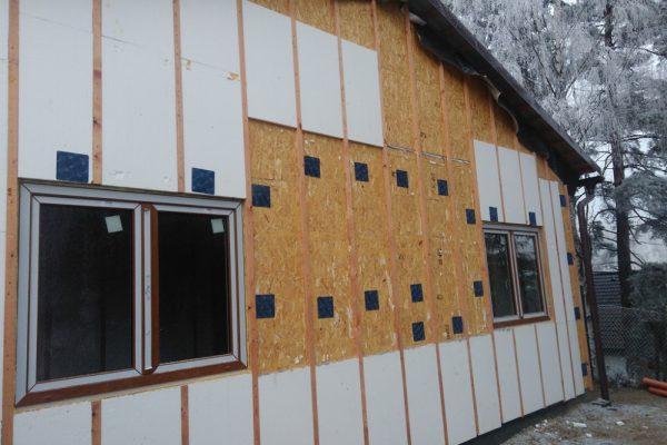 Výstavba RD Velká Hleďsebe-dřevostavba domu svépomocí |  - IMG_20161207_090220