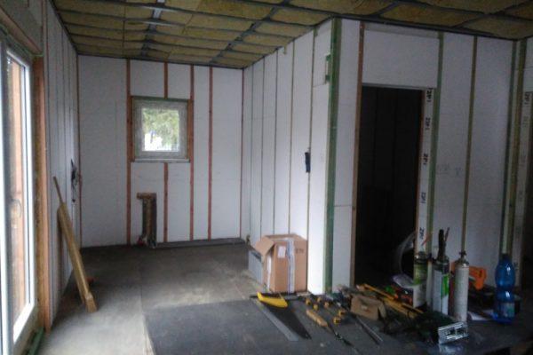 Výstavba RD Velká Hleďsebe-dřevostavba domu svépomocí |  - IMG_20161226_093621