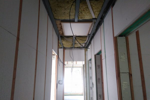Výstavba RD Velká Hleďsebe-dřevostavba domu svépomocí |  - IMG_20170301_145037