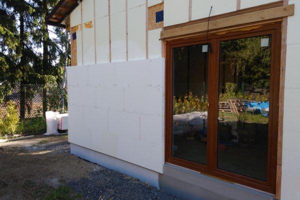 Výstavba RD Velká Hleďsebe-dřevostavba domu svépomocí |  - IMG_20170528_082340