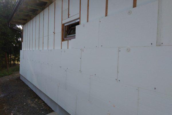 Výstavba RD Velká Hleďsebe-dřevostavba domu svépomocí |  - IMG_20170528_082400