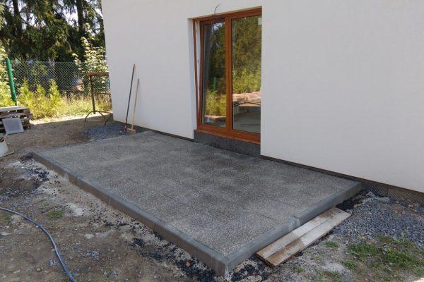 Výstavba RD Velká Hleďsebe-dřevostavba domu svépomocí |  - IMG_20170807_101145