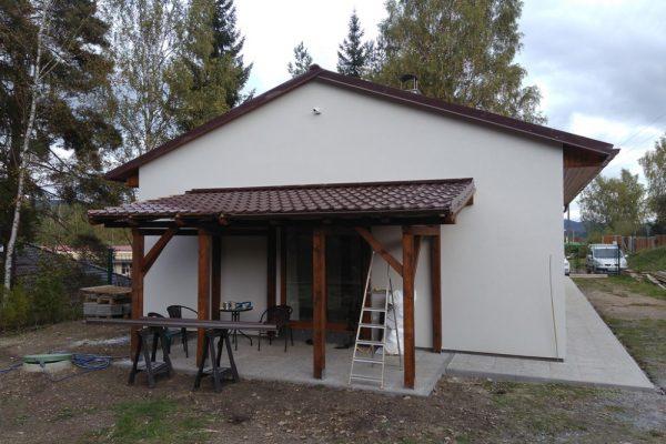 Výstavba RD Velká Hleďsebe-dřevostavba domu svépomocí |  - IMG_20170924_151316