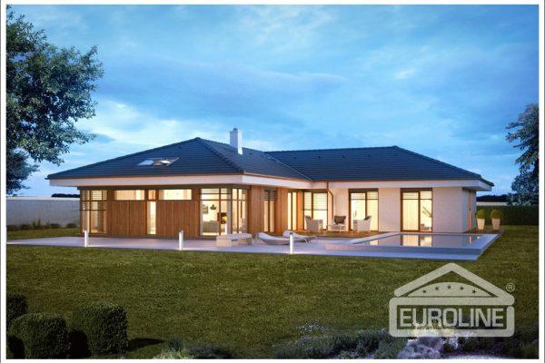 Postavený dům - Bungalov 1476