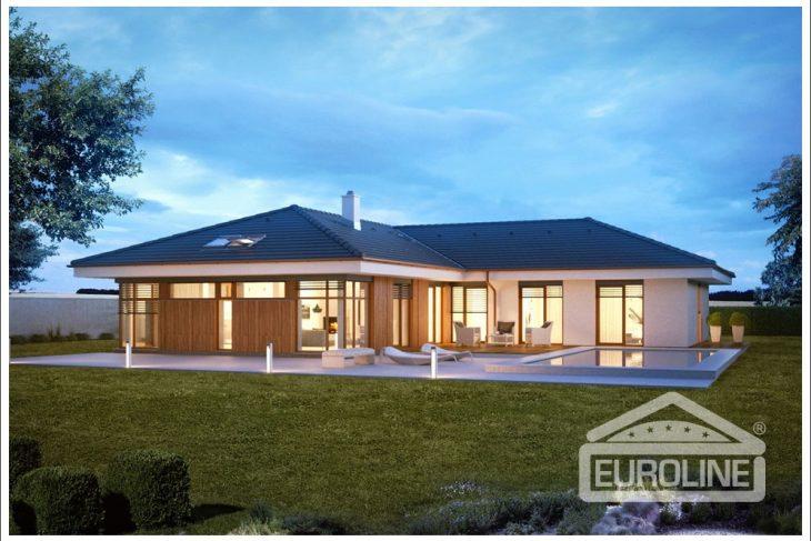 Projekt domu - Bungalov 1476