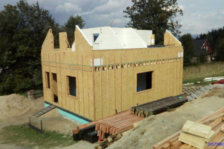 Postavený dům - RD Atyp Patrový Smrž