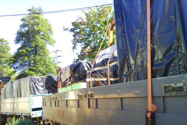 Výstavba RD Velká Hleďsebe-dřevostavba domu svépomocí | nakládka hotové stavebnice - nakládka hotové stavebnice