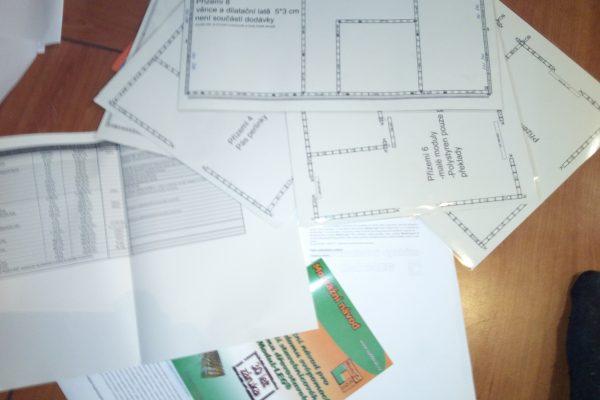 Výstavba RD Velká Hleďsebe-dřevostavba domu svépomocí | Připravená výrobní dokumentace na stavbu domu - Připravená výrobní dokumentace na stavbu domu
