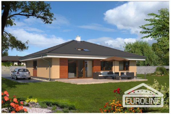 Postavený dům - Bungalow 1275