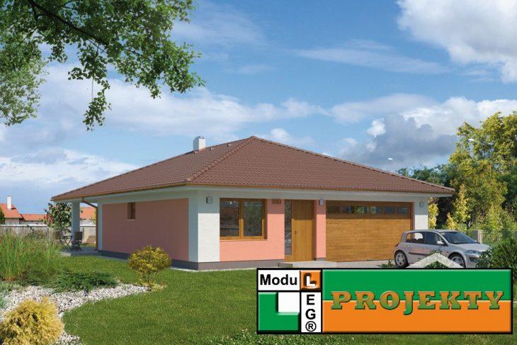Postavený dům - Bungalow 980