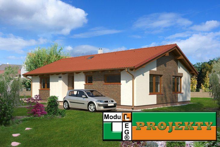 Postavený dům - Bungalov 1082