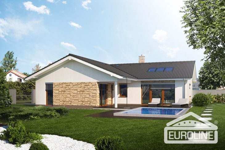 Postavený dům - Bungalow 1372 Duda