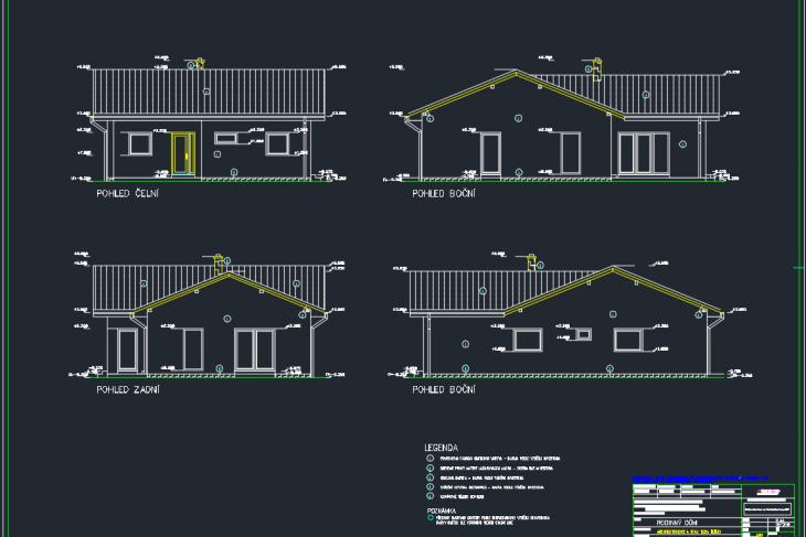 Postavený dům - RD Gut Atyp