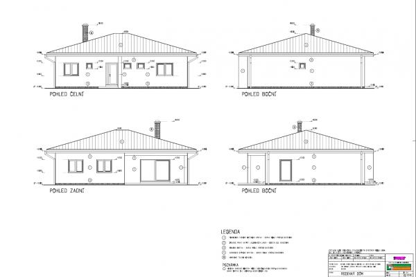 Postavený dům - RD Atyp Bungalow